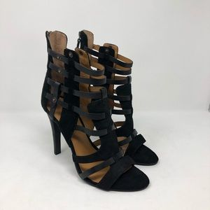 Nine West Va Bradie gladiator heels Sz 10 NEW (23